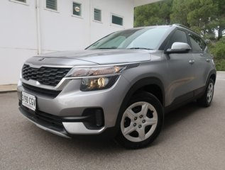 2020 Kia Seltos SP2 MY21 S 2WD Grey 1 Speed Constant Variable Wagon.