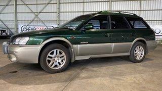 2000 Subaru Outback B3A MY00 Limited D/Range AWD Green 5 Speed Manual Wagon.