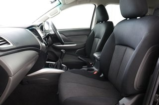 2016 Mitsubishi Triton MQ MY16 GLS (4x4) Black 6 Speed Manual Dual Cab Utility