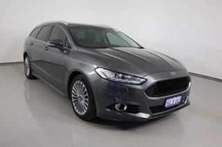 2017 Ford Mondeo MD Titanium Grey 6 Speed Automatic Hatchback.