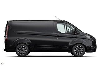 2020 Ford Transit Custom VN 2021.25MY 320S (Low Roof) Sport Black 6 Speed Automatic Van