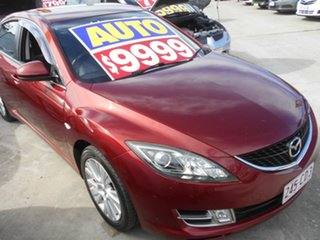 2008 Mazda 6 GH1051 Limited Maroon 5 Speed Sports Automatic Sedan.