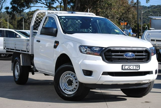 Used Ford Ranger PX MkIII 2020.25MY XL West Gosford, 2020 Ford Ranger PX MkIII 2020.25MY XL White 6 Speed Sports Automatic Single Cab Chassis