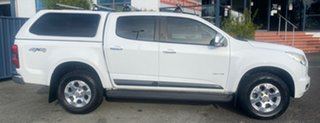 2012 Holden Colorado RG MY13 LTZ Crew Cab White 5 Speed Manual Utility.