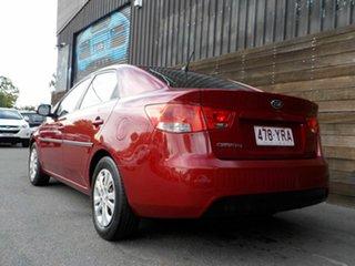 2009 Kia Cerato TD MY10 S Red 4 Speed Sports Automatic Sedan
