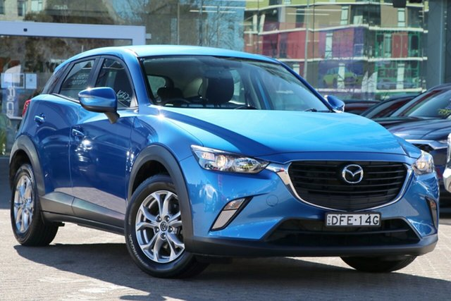 Used Mazda CX-3 DK2W7A Maxx SKYACTIV-Drive Rosebery, 2016 Mazda CX-3 DK2W7A Maxx SKYACTIV-Drive Dynamic Blue 6 Speed Sports Automatic Wagon