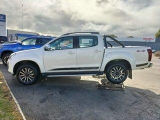 2019 Isuzu D-MAX MY19 X-Runner Crew Cab White 6 Speed Sports Automatic Utility.