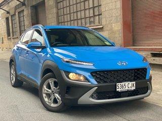 2021 Hyundai Kona Os.v4 MY21 Active 2WD Surfy Blue 8 Speed Automatic Wagon.