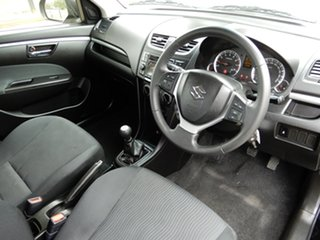 2013 Suzuki Swift FZ GL Black/Grey 5 Speed Manual Hatchback