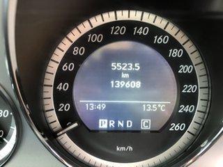 2010 Mercedes-Benz C250 W204 MY10 CGI Avantgarde 5 Speed Auto Tipshift Sedan