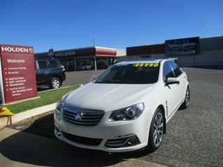 2016 Holden Calais VF II MY16 V White 6 Speed Sports Automatic Sedan.