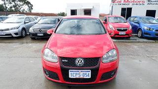 2007 Volkswagen Golf V MY07 GTI DSG Red 6 Speed Sports Automatic Dual Clutch Hatchback.