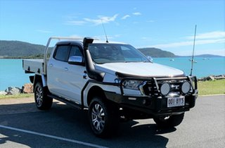 2016 Ford Ranger PX MkII XLT Double Cab White Automatic Crewcab.