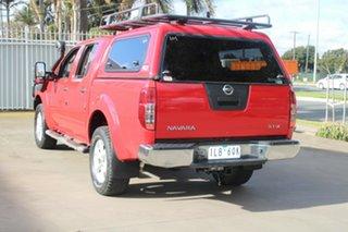 2010 Nissan Navara D40 Series 4 ST-X (4x4) Red 5 Speed Automatic Dual Cab Pick-up