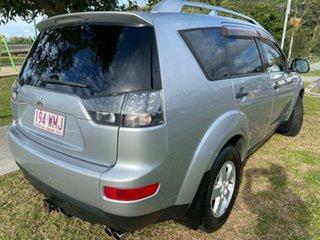 2008 Mitsubishi Outlander ZG MY08 VR Silver 6 Speed Sports Automatic Wagon
