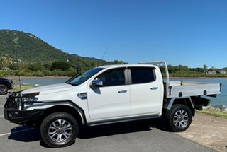 2016 Ford Ranger PX MkII XLT Double Cab White Automatic Crewcab