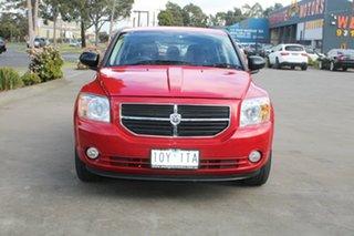 2010 Dodge Caliber PM SX Red 6 Speed CVT Auto Sequential Hatchback.