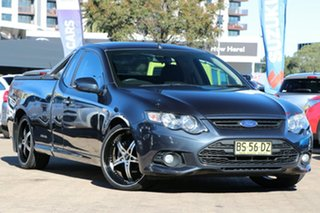 2012 Ford Falcon FG Upgrade XR6 Grey 6 Speed Auto Seq Sportshift Utility.