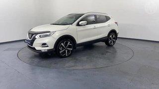 2017 Nissan Qashqai J11 TI Ivory Pearl 1 Speed Constant Variable Wagon