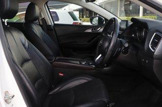 2016 Mazda 3 BN5438 SP25 SKYACTIV-Drive GT Snowflake White 6 Speed Sports Automatic Hatchback