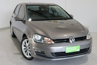 2013 Volkswagen Golf VII 103TSI DSG Highline Grey 7 Speed Sports Automatic Dual Clutch Hatchback.