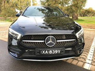 2019 Mercedes-Benz A-Class V177 800MY A200 DCT Black 7 Speed Sports Automatic Dual Clutch Sedan.