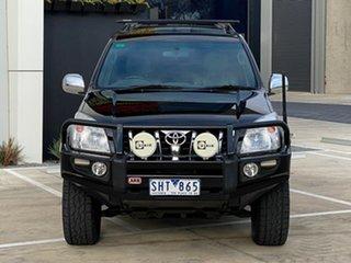 2003 Toyota Landcruiser Prado GRJ120R Grande Black 4 Speed Automatic Wagon.
