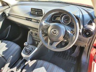 2015 Mazda 2 DJ2HA6 Neo SKYACTIV-MT Soul Red 6 Speed Manual Hatchback.