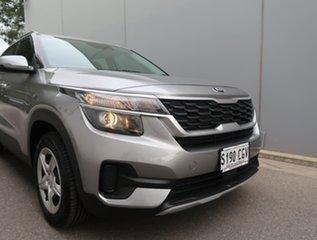 2020 Kia Seltos SP2 MY21 S 2WD Grey 1 Speed Constant Variable Wagon