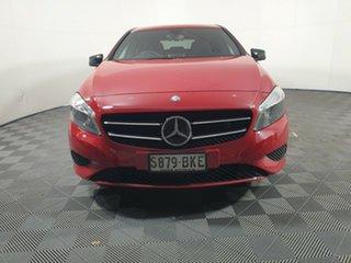 2013 Mercedes-Benz A-Class W176 A200 DCT Red 7 Speed Sports Automatic Dual Clutch Hatchback.