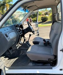 2004 Nissan Navara D22 DX White 5 Speed Manual Cab Chassis