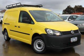 2014 Volkswagen Caddy 2KN MY15 TDI250 BlueMOTION Maxi DSG Yellow 7 Speed