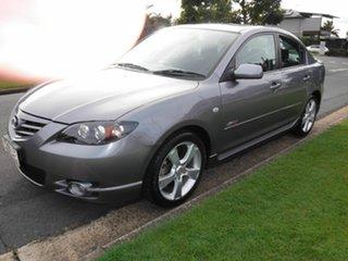 2004 Mazda 3 BK SERIES 1  SP23 Silver 4 Speed Automatic Sedan
