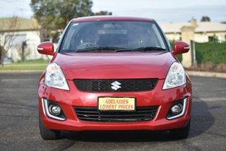 2015 Suzuki Swift FZ MY15 GL Navigator Red 5 Speed Manual Hatchback.