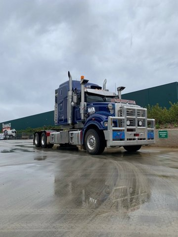 Used Mack Superliner Truck Harristown, 2016 Mack Superliner Superliner Truck Blue Prime Mover