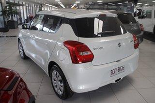 2021 Suzuki Swift AZ Series II GL Pure White Pearl 1 Speed Constant Variable Hatchback.