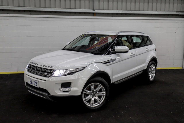 Used Land Rover Range Rover Evoque L538 MY13 SD4 CommandShift Pure Canning Vale, 2013 Land Rover Range Rover Evoque L538 MY13 SD4 CommandShift Pure White 6 Speed Sports Automatic