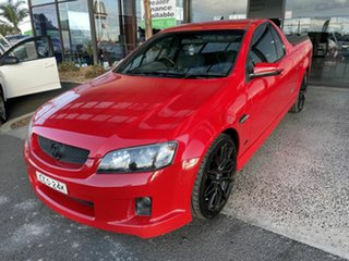 2010 Holden Commodore VE II SS Red 6 Speed Manual Utility