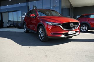 2021 Mazda CX-5 KF4WLA Akera SKYACTIV-Drive i-ACTIV AWD Red 6 Speed Sports Automatic Wagon.