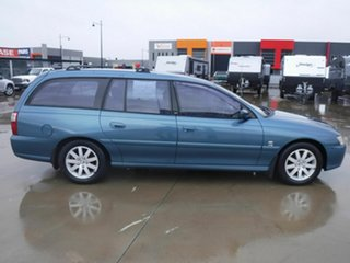 2003 Holden Commodore VY II 25th Anniversary Blue 4 Speed Automatic Wagon.