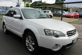 2004 Subaru Outback B4A MY05 AWD White 4 Speed Sports Automatic Wagon.