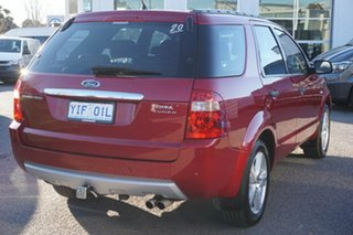 2006 Ford Territory SY Turbo AWD Ghia Red 6 Speed Sports Automatic Wagon