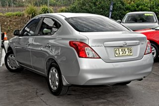 2012 Nissan Almera N17 ST Silver 4 Speed Automatic Sedan.