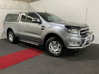 2015 Ford Ranger PX MkII XLT Super Cab Silver 6 Speed Sports Automatic Utility.