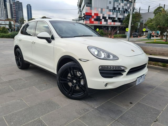 Used Porsche Cayenne 92A MY11 S Tiptronic South Melbourne, 2010 Porsche Cayenne 92A MY11 S Tiptronic White 8 Speed Sports Automatic Wagon
