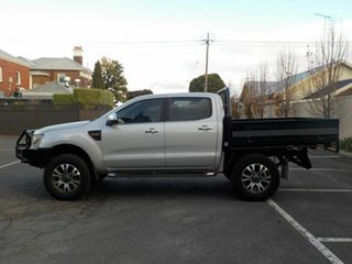 2012 Ford Ranger PX XL 3.2 (4x4) Silver 6 Speed Manual Dual Cab Chassis