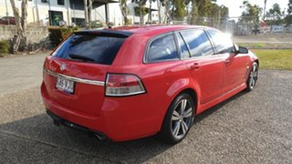 2013 Holden Commodore VF SV6 Red 6 Speed Automatic Sportswagon.