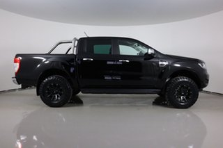 2021 Ford Ranger PX MkIII MY21.25 XLT 3.2 (4x4) Black 6 Speed Automatic Double Cab Pick Up