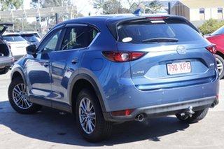 2017 Mazda CX-5 KF2W7A Maxx SKYACTIV-Drive FWD Sport Eternal Blue 6 Speed Sports Automatic Wagon.