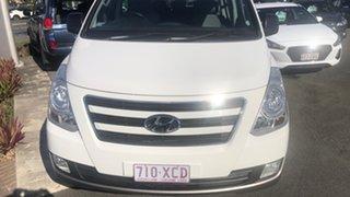 2015 Hyundai iMAX TQ3-W Series II MY16 White 5 Speed Automatic Wagon.